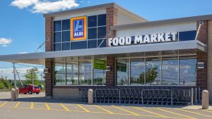 Photography of front of Aldi's