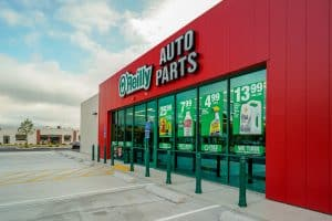 Commercial Photography of O'Reilly Auto Parts New Building