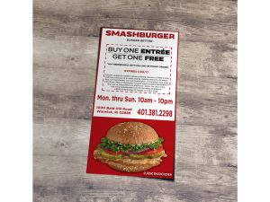 Smashburger Coupon Mockup