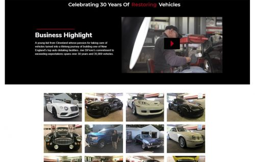 DiFiore s Auto Detailing video section